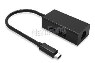 TYPE C M to RJ45 F+2-USB3.0 Hub Adapter Cable,TYPE C TO RJ45+2-USB3.0 HUB,TYPE C 分线器,TYPE C 延长线