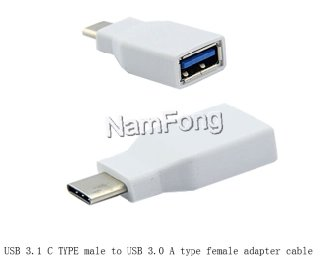 USB TYPE C TO USB AF 3.0  ADAPTER,C TO USB 2.0 ADAPTER
