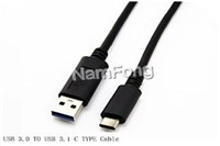 TYPE C 3.1 TO USB 3.0 AM CABLE  TYPE C数据线  安卓手机数据线 TYPE C手机充电线