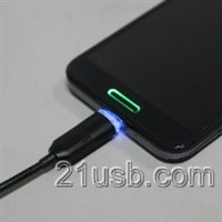 USB AM TO MICRO USB BM  发光线