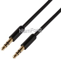DC线,DC cable,DC音频线,3.5 DC M TO 3.5DC M CABLE 黑色