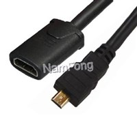 HDMI高清线,HDMI视频线,HDMI AF TO MINI HDMI DM CABLE